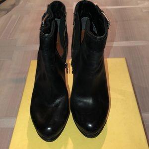 Max Studio Leather Booties